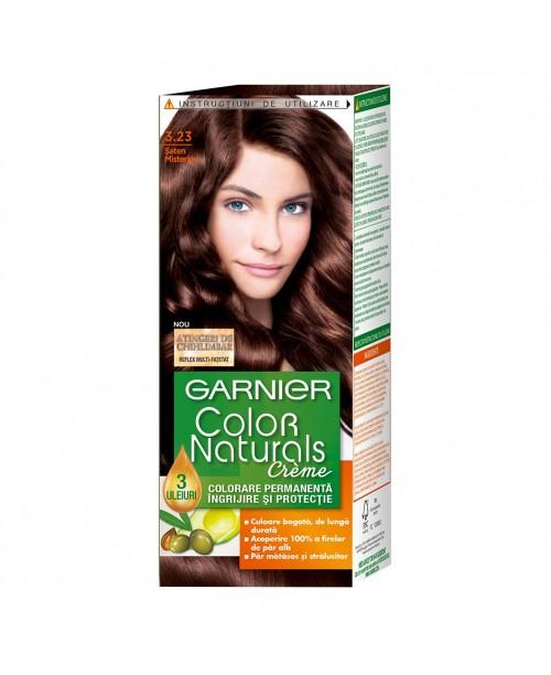 Vopsea Garnier Color Naturals 3.23 saten misterios