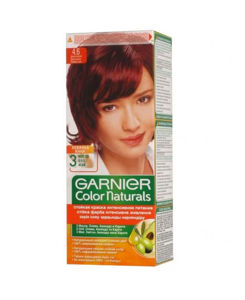 Vopsea Garnier Color Naturals 4.6 rosu intens inchis