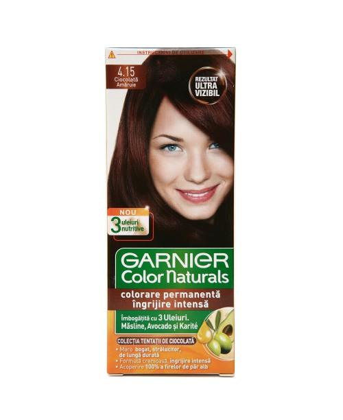 Vopsea Garnier Color Naturals 4.15 ciocolata amaruie