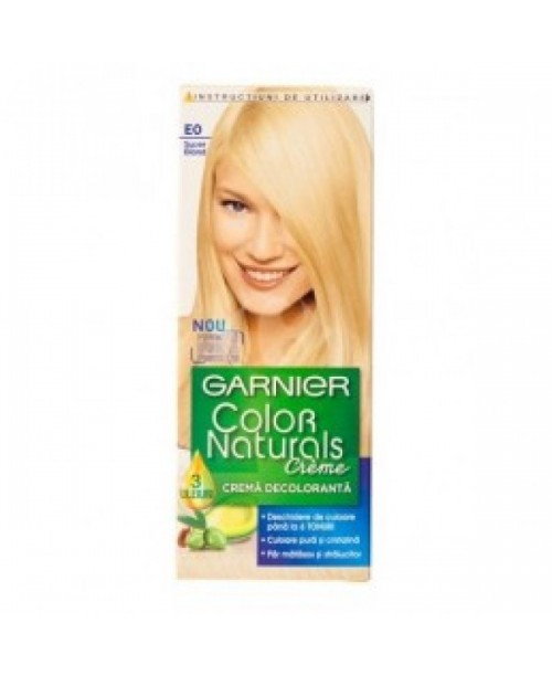 Vopsea Garnier Color Naturals E0 super blond