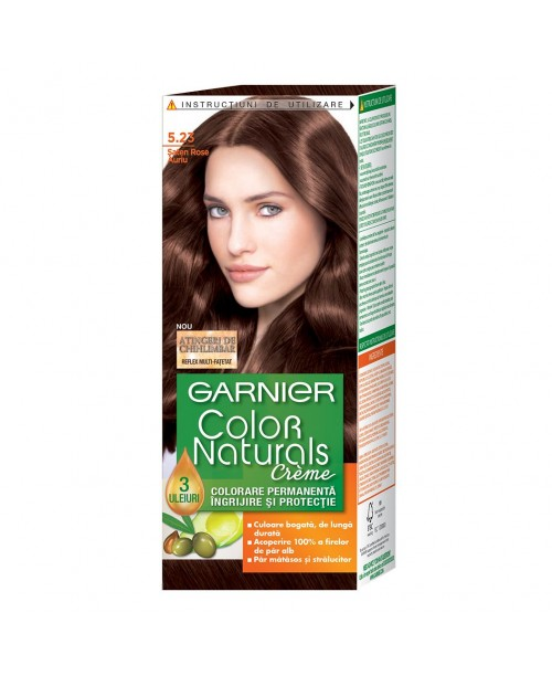 Vopsea Garnier Color Naturals 5.23 saten rose auriu