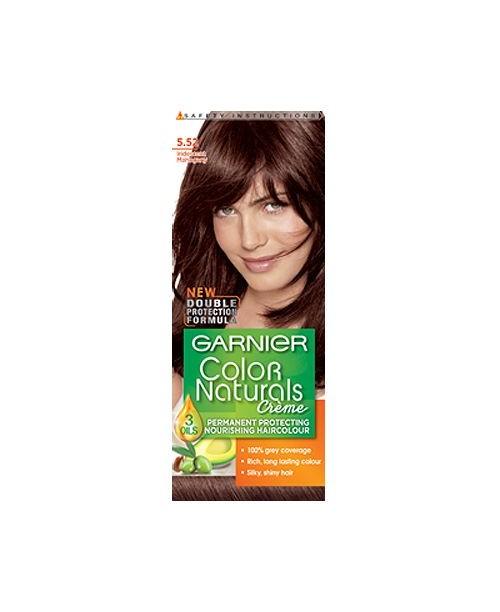Vopsea Garnier Color Naturals 5.52 mahon irizat