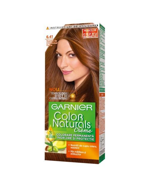 Vopsea Garnier Color Naturals 6.41 chihlimbar dulce