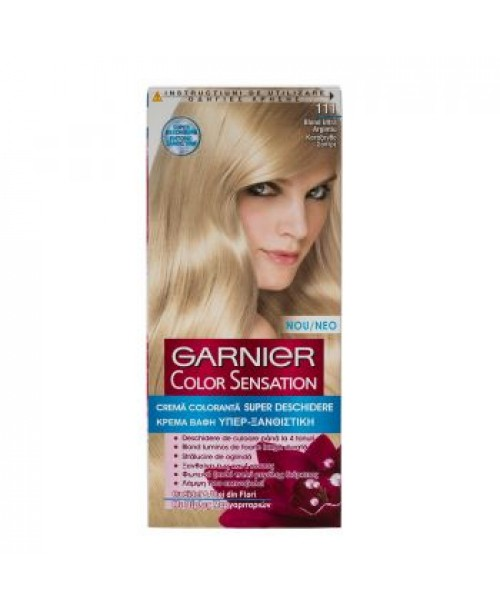 Vopsea Garnier Color Sensation 111 blond ultra