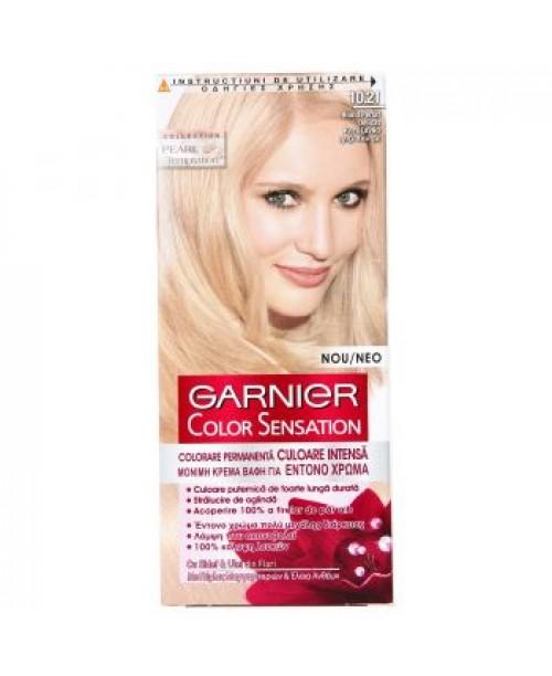 Vopsea Garnier Color Sensation 10.21 blond perlat delicat