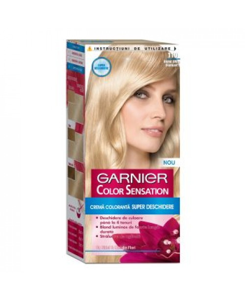 Vopsea Garnier Color Sensation 110 blond ultra diamant