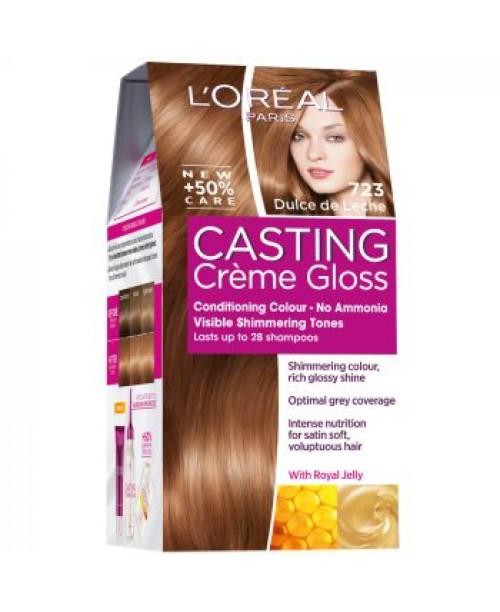 Vopsea L'Oreal Casting Creme Gloss 723 Dulce de Leche