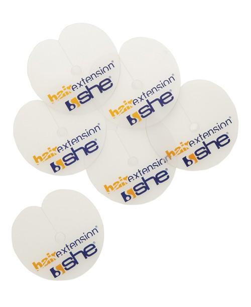Discuri plastic pentru protectie la aplicare extensii keratina