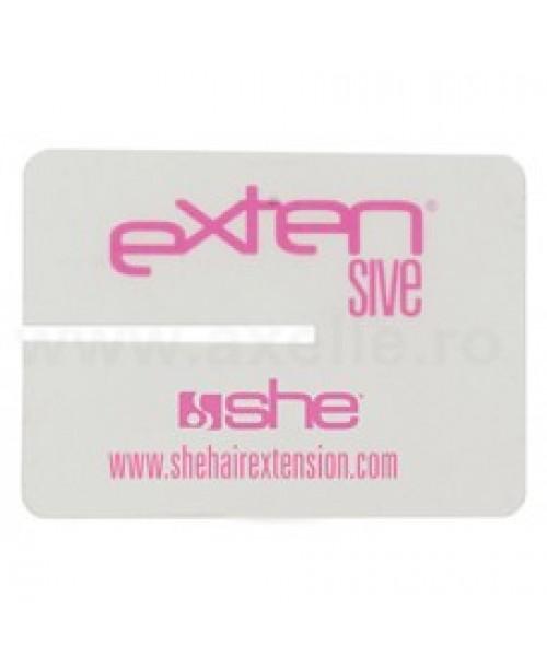Discuri plastic pentru protectie la aplicare extensii cu adeziv