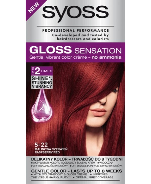 Syoss Gloss 5-22 Roscat Zmeura