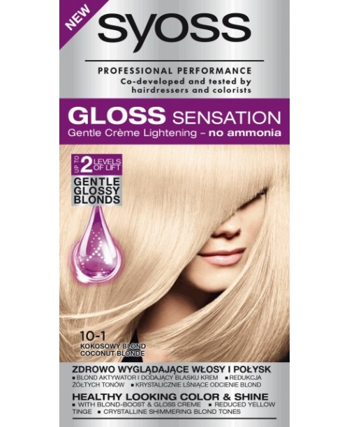 Syoss Gloss 10-1 Blond Cocos