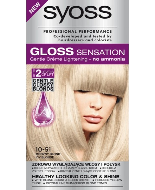 Syoss Gloss 10-51 Blond Rece