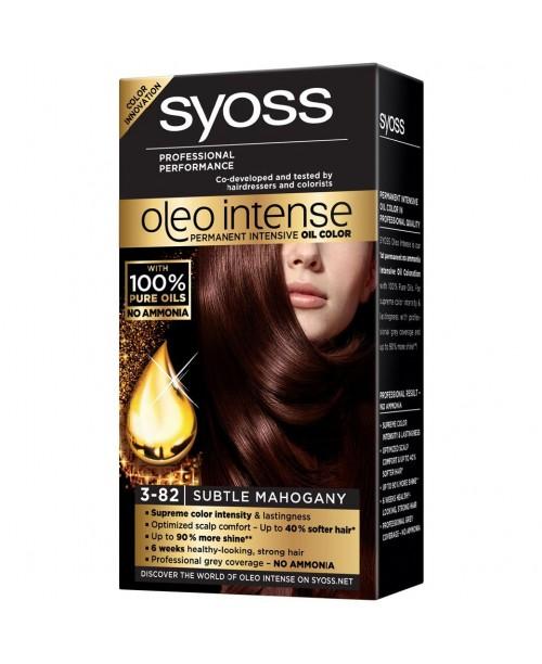 Syoss Oleo Intense 3-82 Mahon Delicat