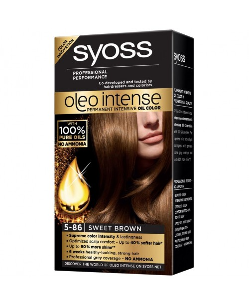 Syoss Oleo Intense 5-86 Saten Incantator
