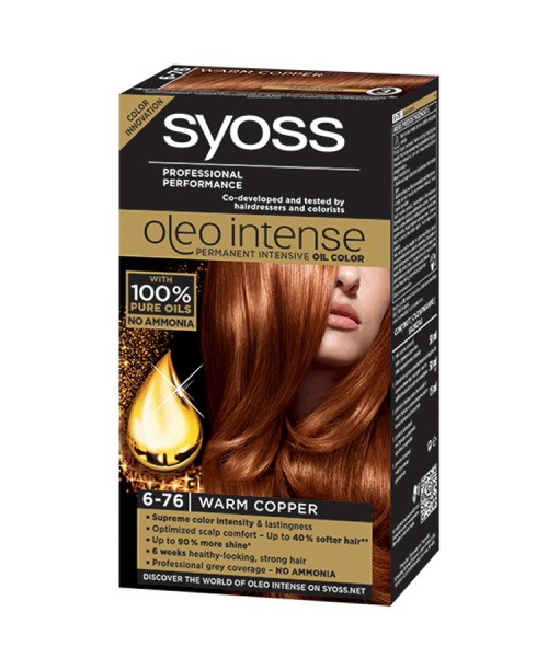 Syoss Oleo Intense 6-76 Warm Copper