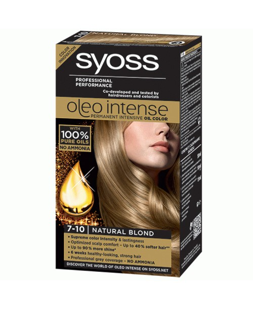 Syoss Oleo Intense 7-10 Blond Natural