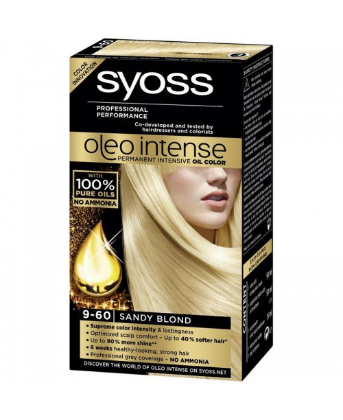 Syoss Oleo Intense 9-60 Blond Nisipiu