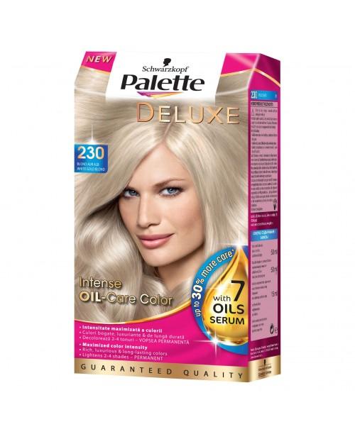 Palette Deluxe 230 - Blond Auriu Alb