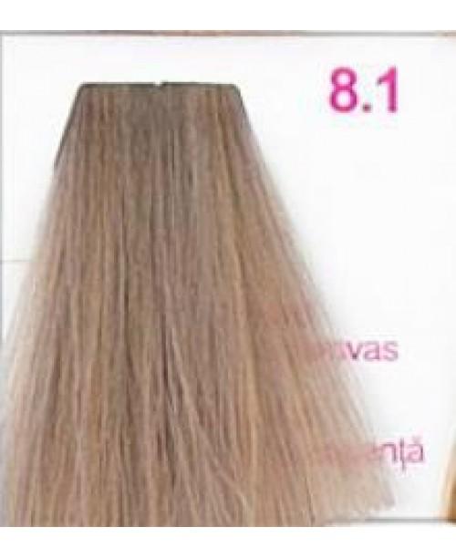Vopsea KJMN - Blond Deschis cu nuanta Cenusie 8.1
