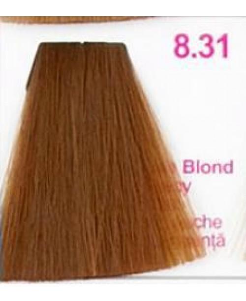 Vopsea KJMN - Blond Deschis cu nuanta de Aur Cenusiu 8.31