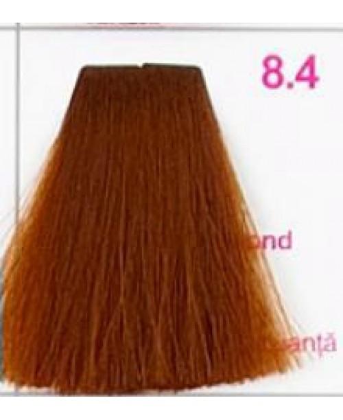 Vopsea KJMN - Blond Deschis cu nuanta de Aramiu 8.4
