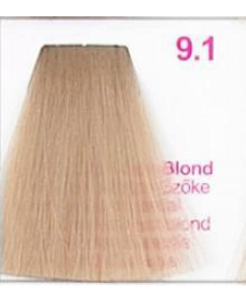 Vopsea KJMN - Blond Extra Deschis cu nuanta Cenusie 9.1