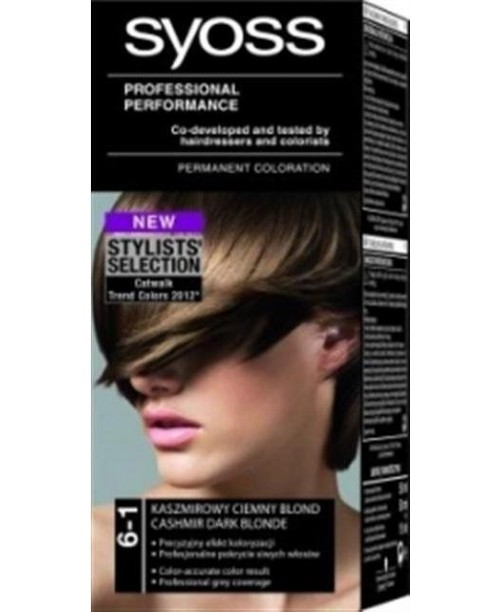 Syoss Color BL 6-1 Blond inchis natural