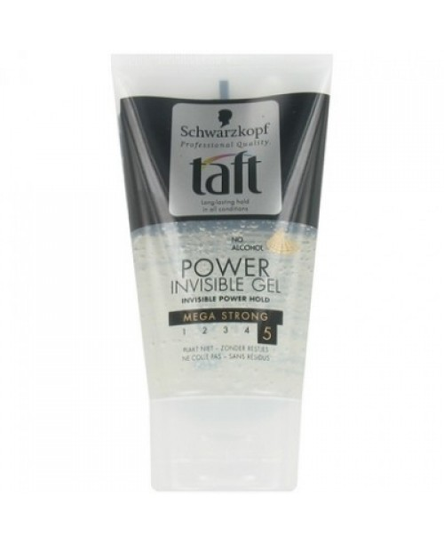 Gel de par Taft Invisible Mega Strong 5 150ml