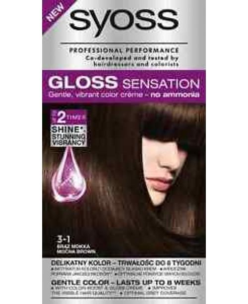 Syoss Gloss 3-1 Saten Mocca