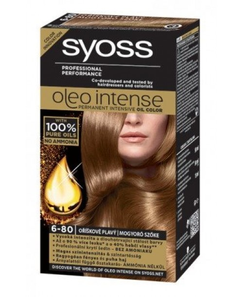 Syoss Oleo Intense 6-80 Blond Aluna