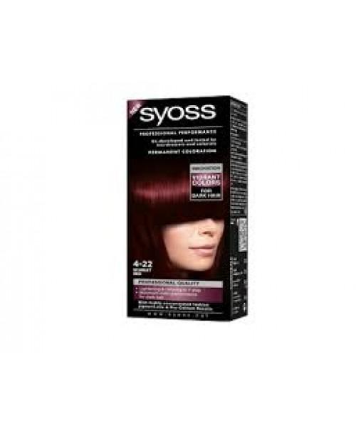 Syoss Color BL 4-22 Rosu Scarlet