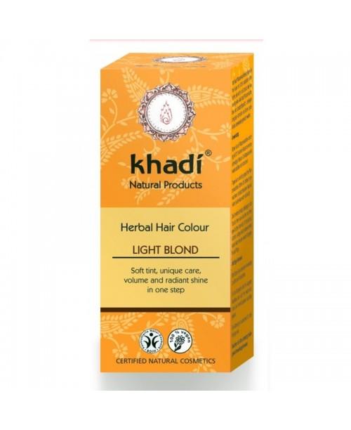 Vopsea naturala Khadi blond deschis