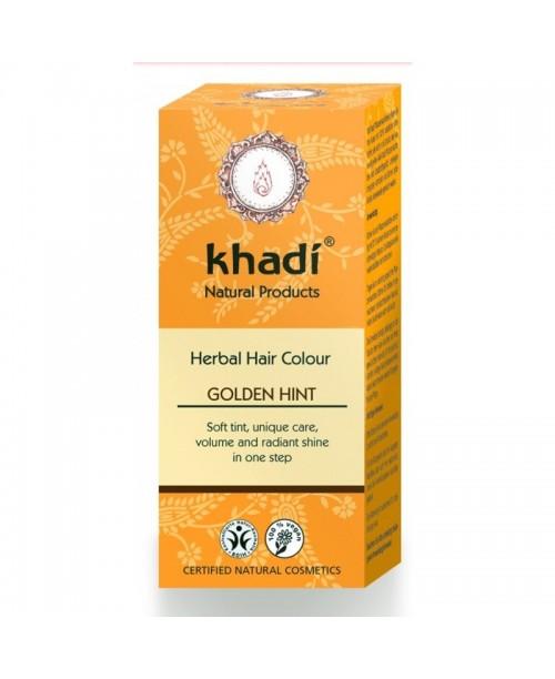 Vopsea naturala Khadi blond auriu