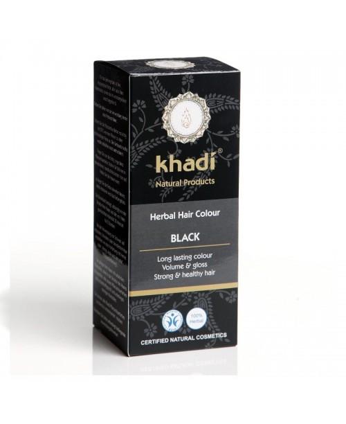 Vopsea naturala Henna Khadi negru