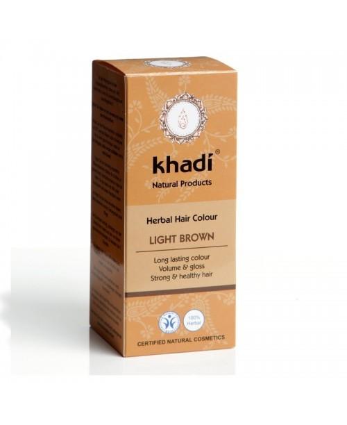 Vopsea naturala Henna Khadi saten deschis