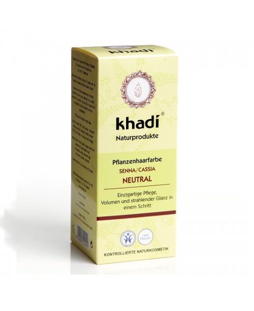Vopsea naturala Henna Khadi neutru
