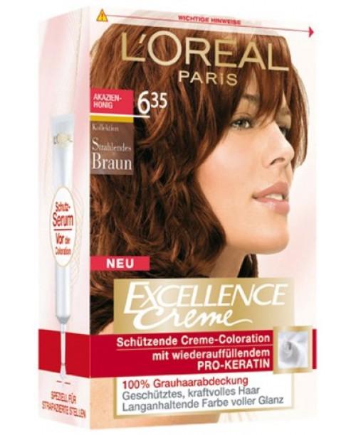 Vopsea L'Oreal Excellence Creme 6.35 blond aluna