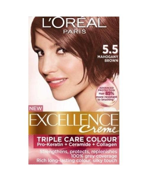 Vopsea L'Oreal Excellence Creme 5.5 Mahon