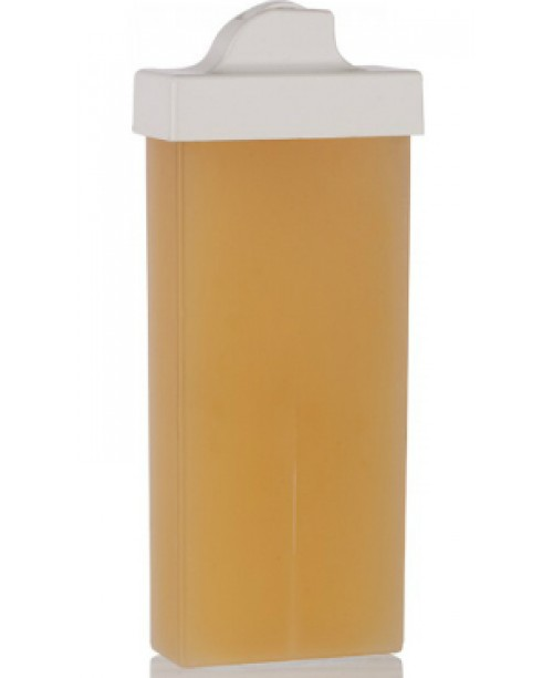 Ceara naturala unica folosinta cu aplicator ingust - galben, naturala clasic