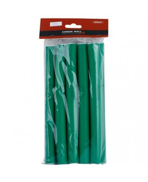 Bigudiuri flexibile Chromwell mari, lungime 24 mm