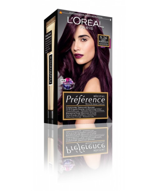 Vopsea L'Oreal Preference 5.26 Violet delicat