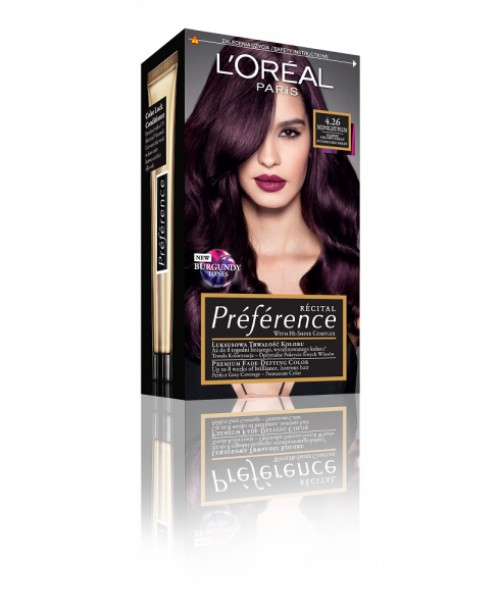 Vopsea L'Oreal Preference 4.26 Violet pur