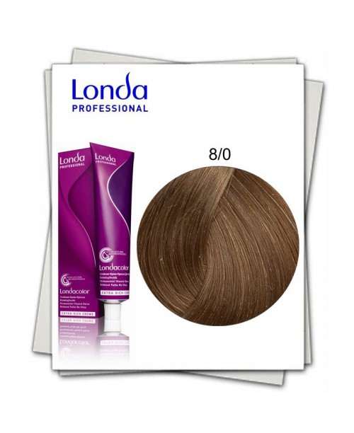 Vopsea Londa Professional 8/0 blond deschis natural 60ml