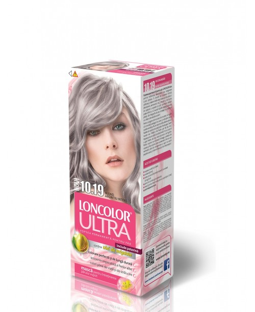 Vopsea Loncolor Ultra - Blond Argintiu Intens 10.19