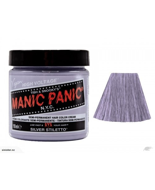 Manic Panic - Silver Stiletto