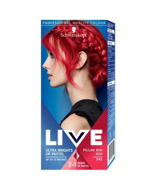 Schwarzkopf Live Color Pastel vopsea semipermanenta Pillar Box Red 092