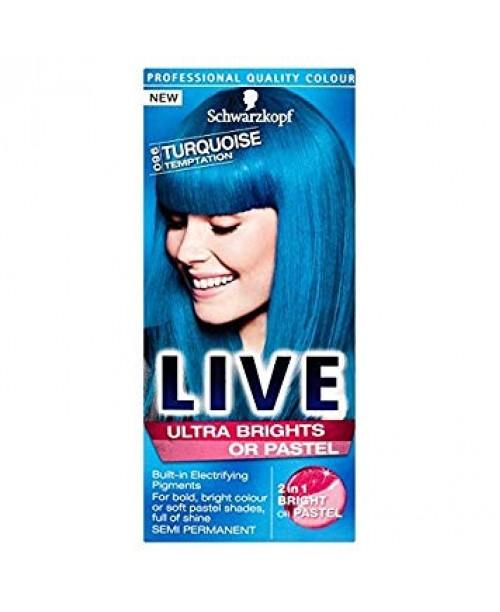 Schwarzkopf Live Color Pastel vopsea semipermanenta Turquoise Temptation 096
