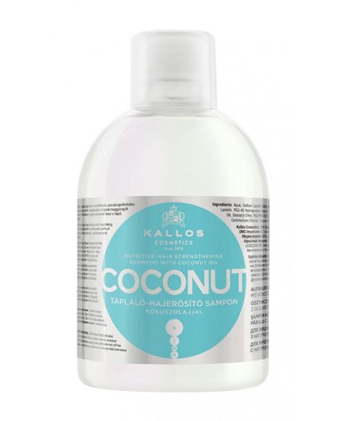 Sampon Kallos de intarire a parului cu ulei de cocos 1000ml