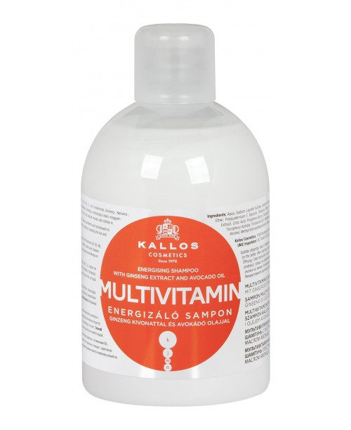 Sampon Kallos Multivitamine cu ginseng si avocado 1000ml