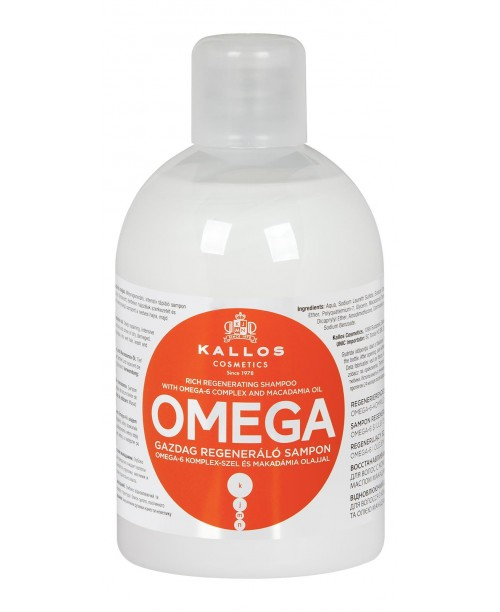 Sampon Kallos Omega pentru par despicat 1000ml